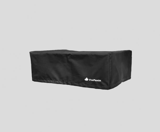 Plancha cover - 2 burners