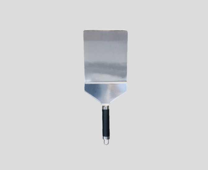 Grande spatule plancha coudée